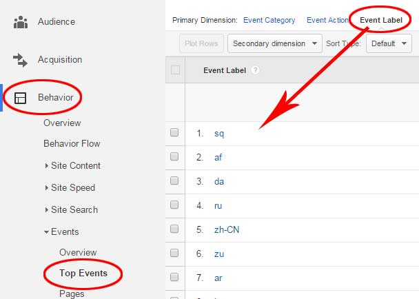 Capture Google Translate Usage Data in Universal Analytics
