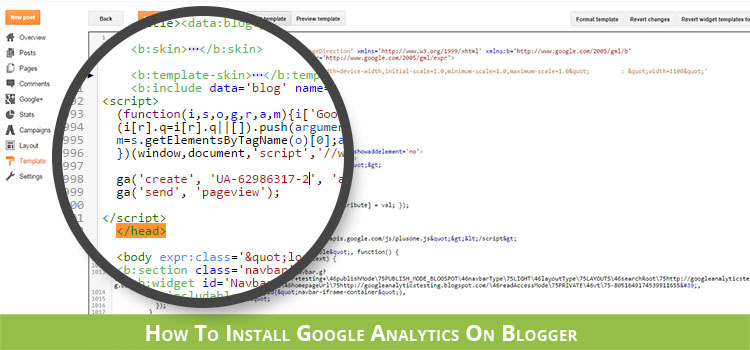How to install Google Analytics on Blogger